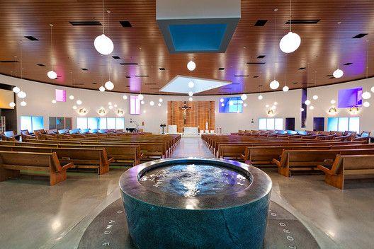 Religious Architecture Awards celebra as melhores obras religiosas de 2015,Saint Joseph the Worker Catholic Church/Sparano + Mooney Architecture. Imagem © Dana Sohm