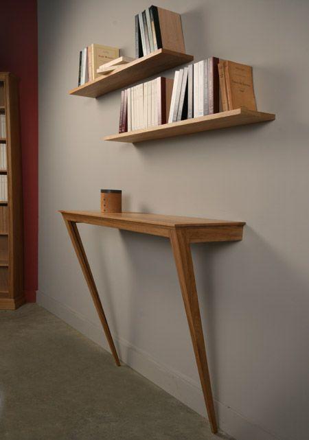 Home Furniture Design Inspiration The Urbanist Lab Console En Ch Ne Massif Et Deux