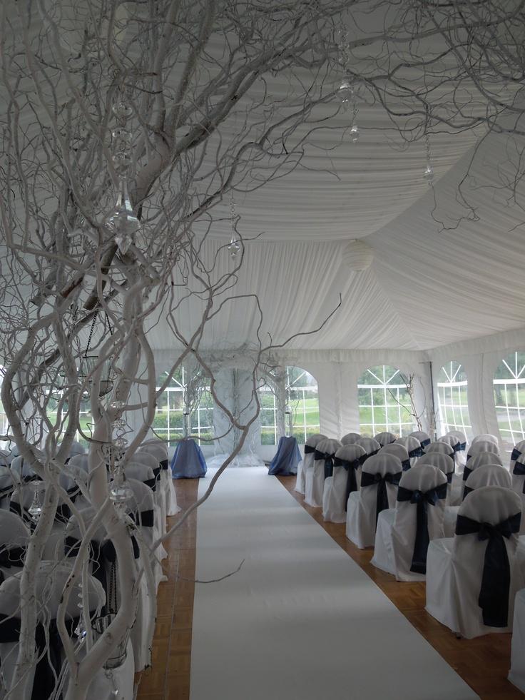Winter Wonderland Wedding arches