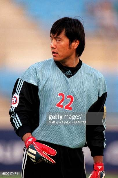 Jiang Jin China PR goalkeeper