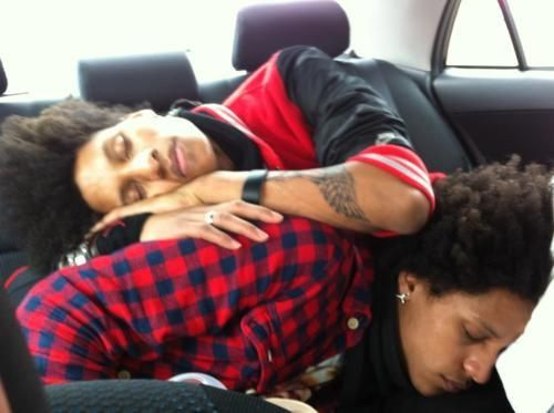 Les Twins, Larry(top) and Laurent(bottom)