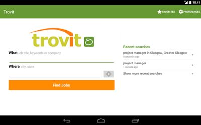 Find work offers - Trovit Jobs  Business Apps       Looking for a job? Trovit! All jobs in one p...