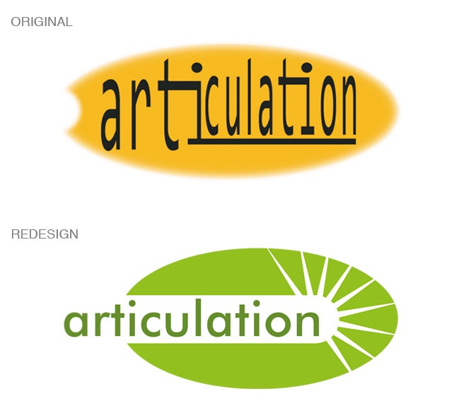 Logo redesign for Articulation Arts
