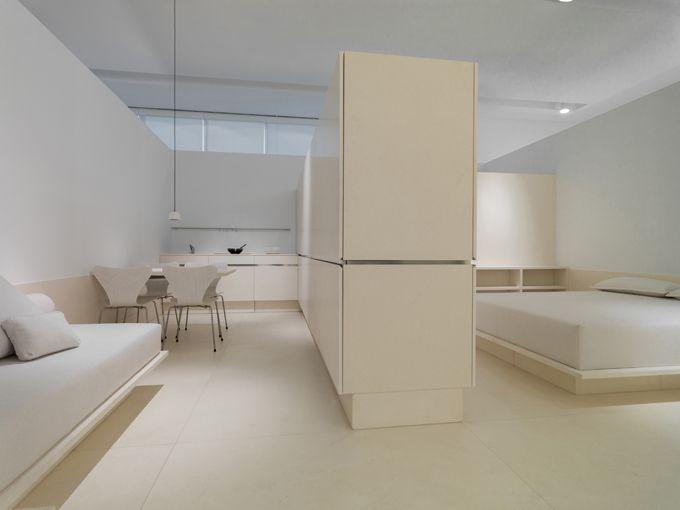 Espacio de Autor by Eduardo Souto de Moura para L'Antic Colonial (2014)  #Porcelanosa #AnticColonial #EspaciosdeAutor #interiorismo #piedranatural #arquitectura