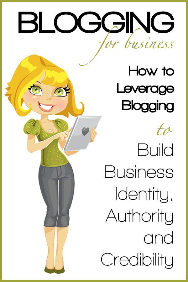 How to Leverage Blogging to Build Business Identity, Authority and Credibility #blogging #business by @Rebekah Ahn Ahn Ahn Ahn Ahn Ahn Radice http://rebekahradice.com/leverage-blogging-build-business-identity-authority-credibility/