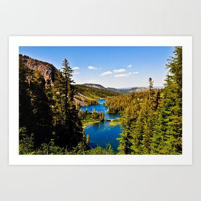 Mammoth Lakes View Art Print by Tim Eisenhauer - $17.68