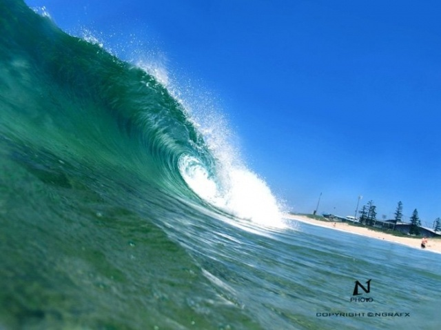 Got to love Wollongong surf #waves
