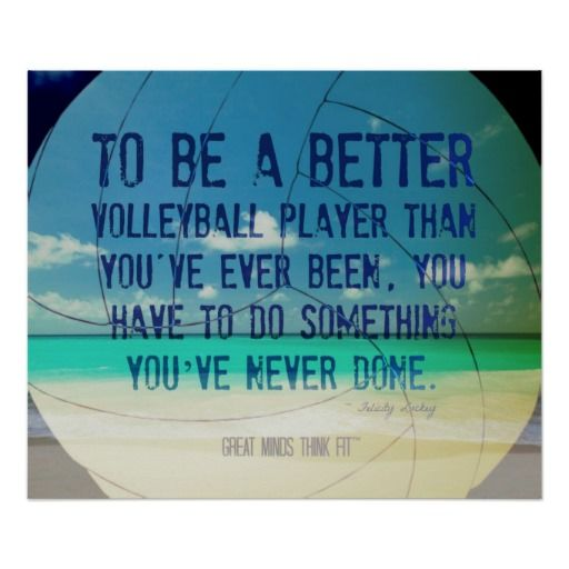 Beach #Volleyball Poster 007 for Motivation > Sold today > Thanks and enjoy!