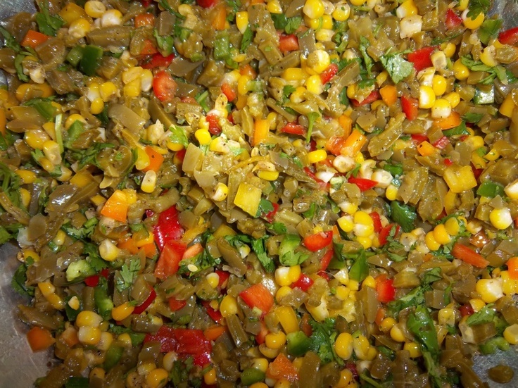Cactus and Corn Salsa