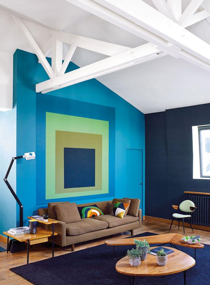 Dachbalken, Edward-Wormley-Sofa
