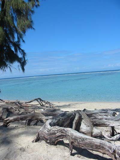 L'hermitage, plage de l'ile de la réunion