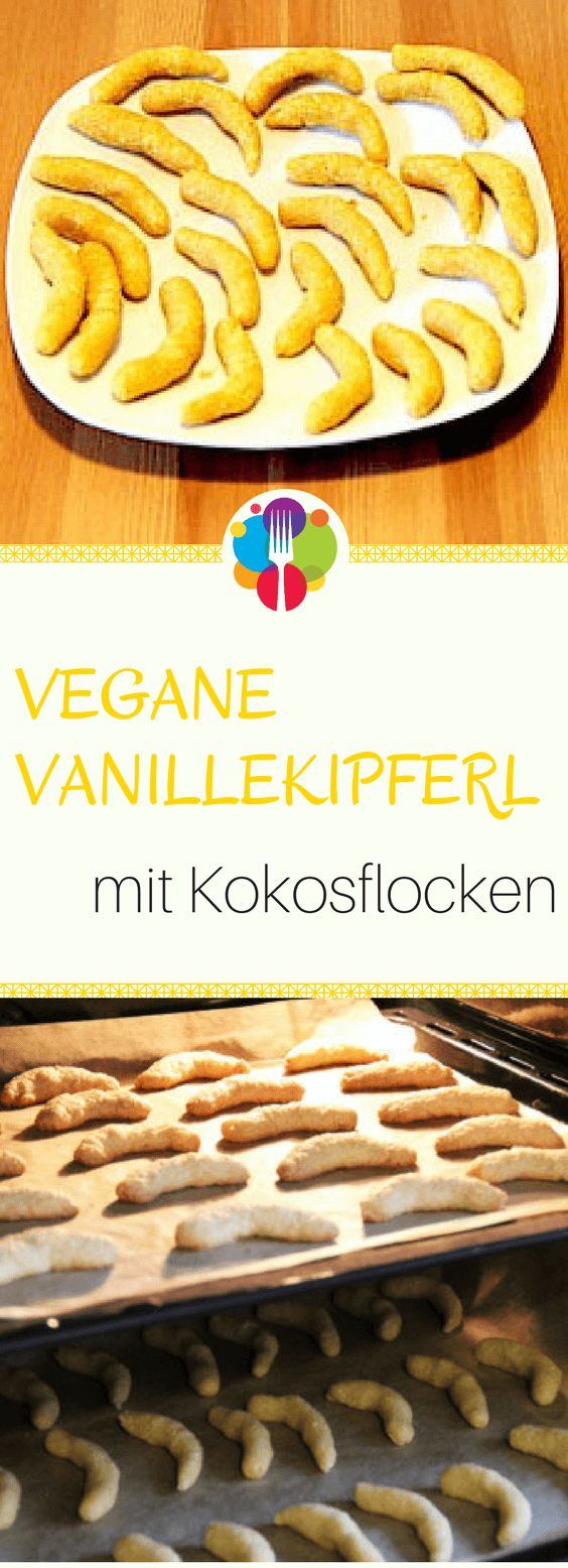 Vegane Vanillekipferl I Vegane Plätzchen I Vegan backen I Entdeckt von Vegalife Rocks: www.vegaliferocks.de ✨ I Fleischlos glücklich, fit & Gesund✨ I Follow me for more vegan inspiration @vegaliferocks