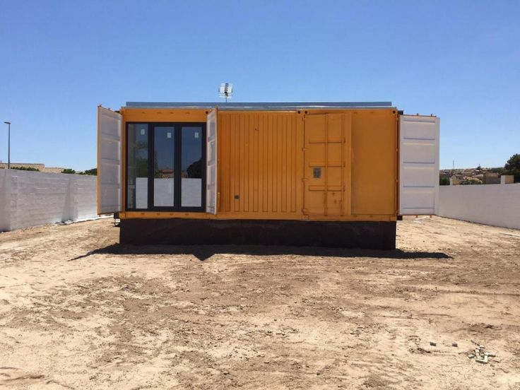 193 best vivienda container images on pinterest - Transformar contenedor maritimo vivienda ...