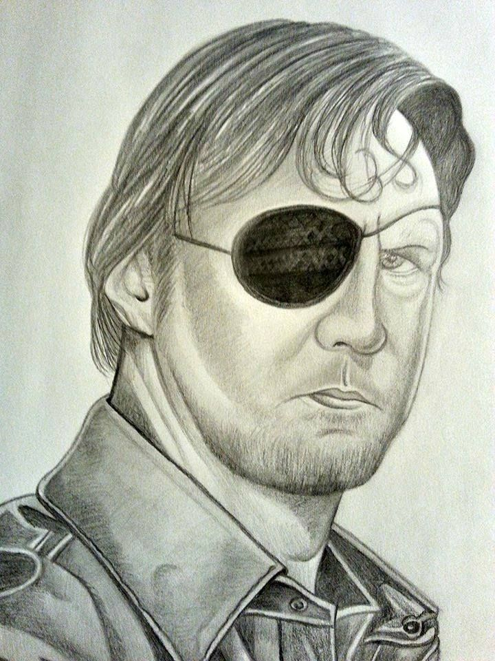 Graphite pencil drawings by creations1140 see more the walking dead the governor
