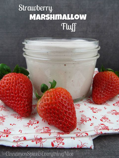 Strawberry Marshmallow Creme (Eggless and Corn-Syrup Free) | Recipe ...