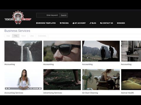 Video Chief 2.0 Review | Profit $500 - $1,000 Per Video Using The Larges...