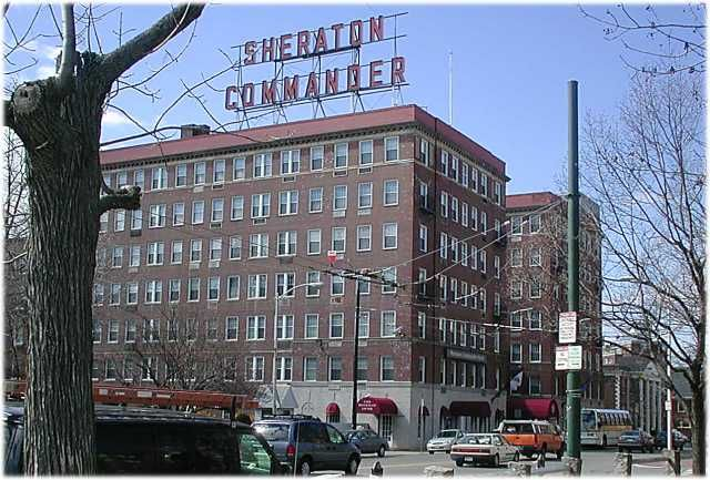 Sheraton Commander Hotel The In Cambridge Ma This Is An Old One Work Pinterest