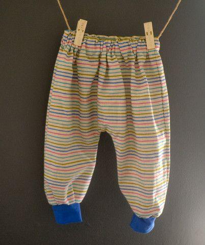 Rainbow Harem Pants