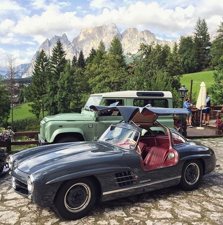 Classic Mercedes...