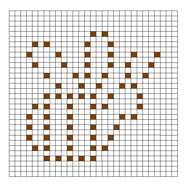 Crochet Bobble Stitch Chart Bumblebee