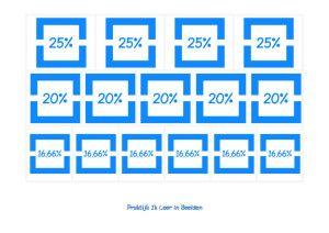 breuken decimalen kommagetallen 11 300x212 problemen met rekenen dyscalculie beelddenken basisschool