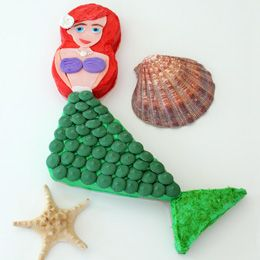 like the shape but wouldn't do ariel: Little Mermaids Cakes, Birthday Parties, Little Mermaid Cakes, Cakes Recipes, Parties Ideas, Ariel Cakes, Mermaids Parties, Birthday Ideas, Birthday Cakes