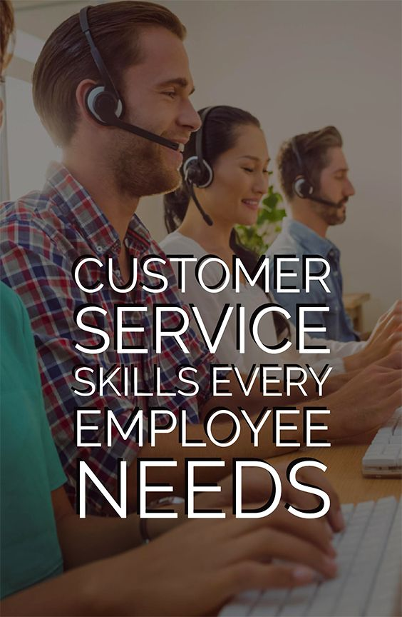 Even if you're not working directly in customer service, per se, that doesn't mean that customer service skills do not apply to you—it can never hurt to brush up on your people skills, no matter what industry you work in. Here are a few universal skills that every good employee should master if they want to make sure not to lose clients or customers for their business—or make big jerks of themselves at crucial moments.