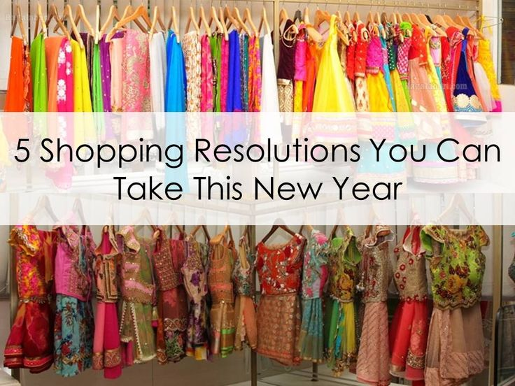 Shopping Goals, Saree Shopping, Accessories Shopping, Shopping Resolutions