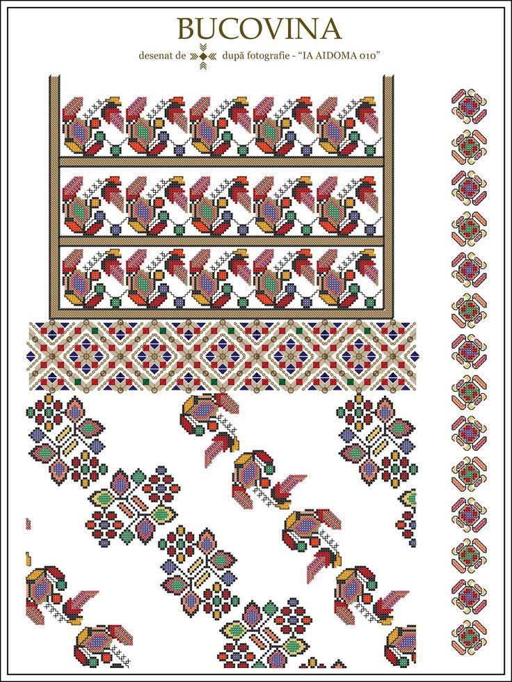 Semne Cusute: IA AIDOMA 010 - Bucovina, ROMANIA