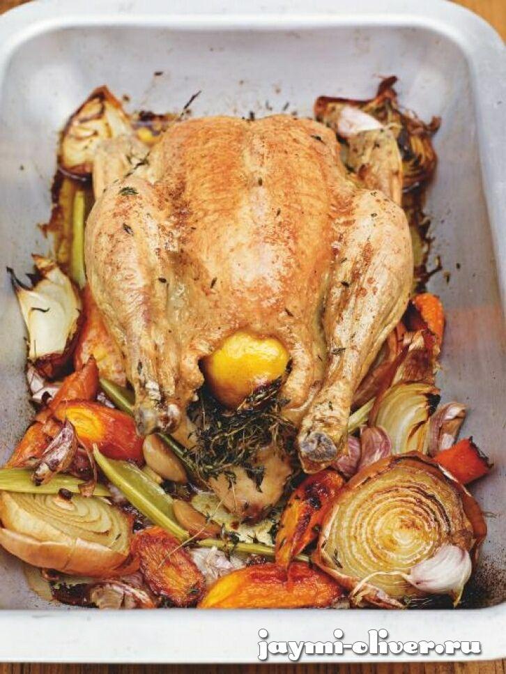 Идеально приготовленная курица