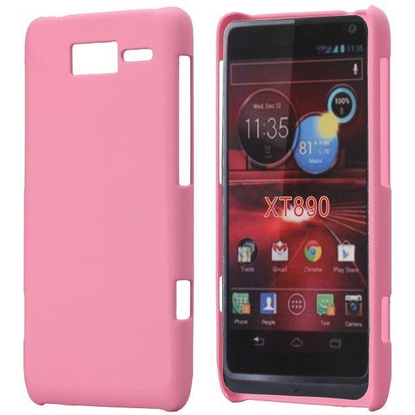 Hard Shell (Vaaleanpunainen) Motorola RAZR i Suojakuori