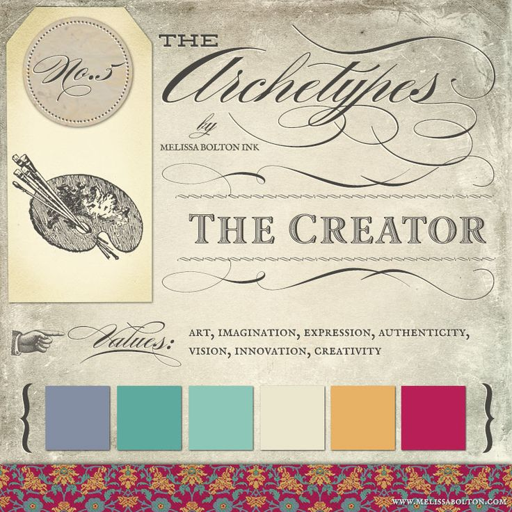 the creator archetype in branding #creatorarchetype #archetypalbranding #archetypes