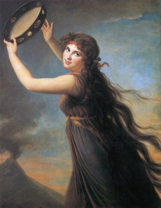"TAMBOURINE ""Gypsy Girl with a Basque Drum"" by William Bouguereau (This instrument is a tambourine) How To Play Tambo..."