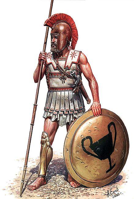 Hoplite, IV century BC