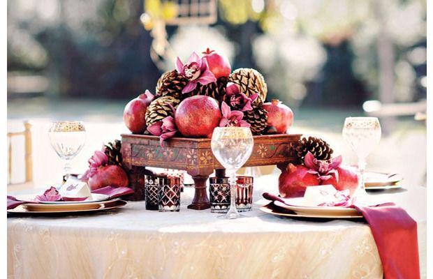 Kış düğünleri için 25 yaratıcı fikir - Pudra