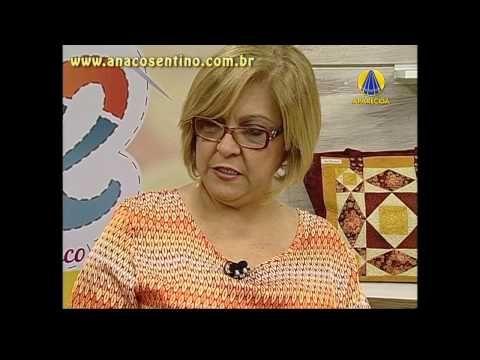 Patchwork com Ana Cosentino: Desmembrando o Catavento, Caminho de Mesa (Programa Vida com Arte) - YouTube