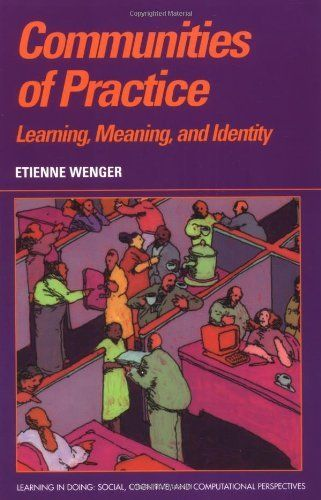 Communities of Practice: Learning, Meaning, and Identity (Learning in Doing: Social, Cognitive and Computational Perspectives) by Etienne Wenger. $38.14. Author: Etienne Wenger. Publisher: Cambridge University Press; 1 edition (September 28, 1999). Publication: September 28, 1999. Edition - 1