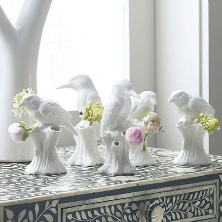 Purist Bird Vases | Vases & Plant Pots | Graham & Green