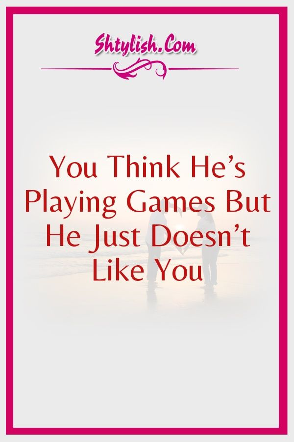 playing games in relationships