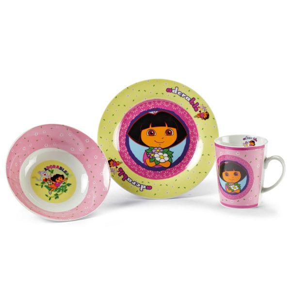 Flouda store | Παιδικό σετ φαγητού Dora