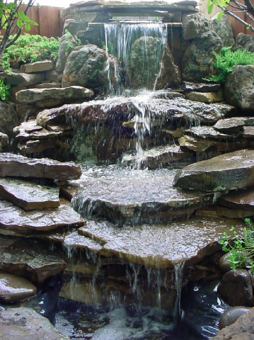 Water fall for back yard...love...now who will build it for me???