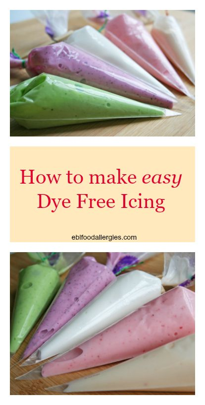 How to Make Dye Free Icing