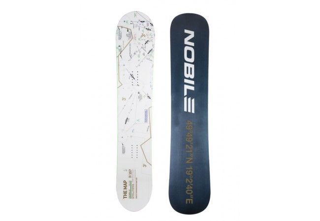 THE MAP N5 NOBILE SNOWBOARDS 2016