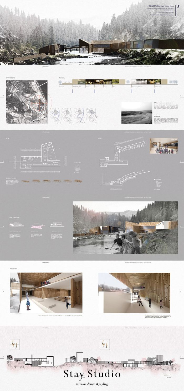 Stay Studio] Architecture Portfolio Architecture Portfolio Template