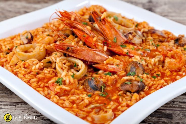 Ριζότο με θαλασσινά - gourmed.gr