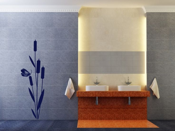 24 best Wandtattoos Badezimmer images on Pinterest Bathrooms - Wandtattoos Fürs Badezimmer
