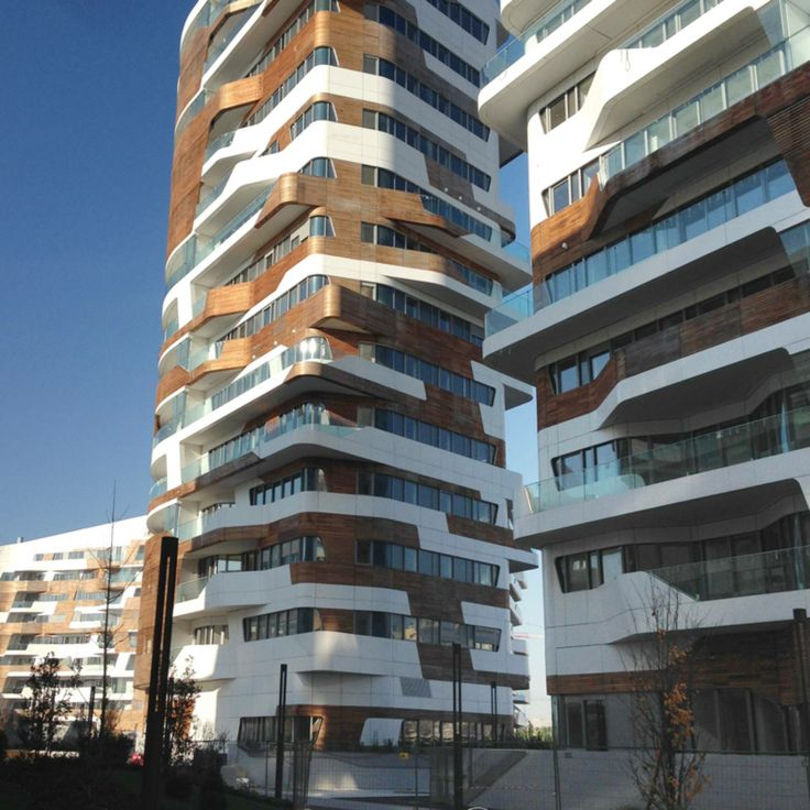 CITY LIFE RESIDENCES BY ZAHA HADID ARCHITECTS
