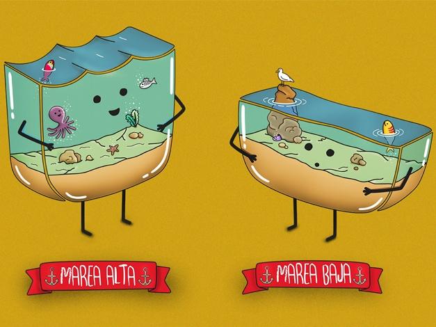 Diferencias entre... Marea Alta y Marea Baja