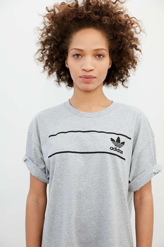 adidas Originals Retro Logo Tee - Urban Outfitters