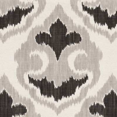 Florentina Ikat Gray Fabric By The Yard | Ballard Designs